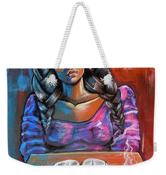 Do I Make You Proud Weekender Tote Bag