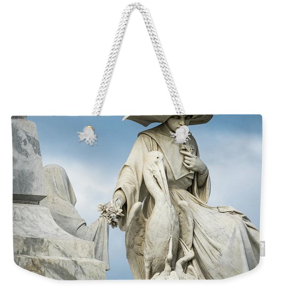Weekender Tote Bag featuring the photograph Do Not Forget Me by Robin Zygelman