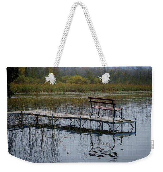 Dock By The Bay Weekender Tote Bag