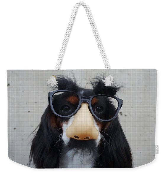 Dog Gone Funny Weekender Tote Bag