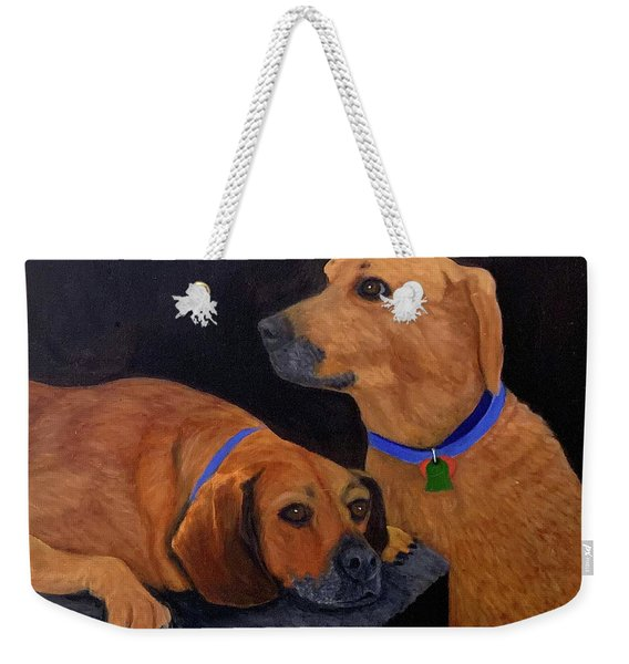 Dog Love Weekender Tote Bag