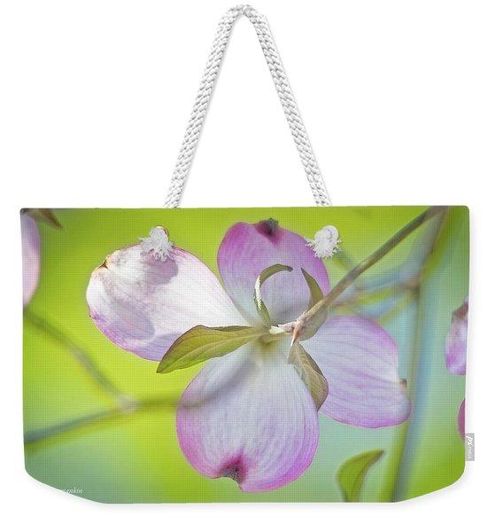 Dogwood Blossom In Spring Weekender Tote Bag