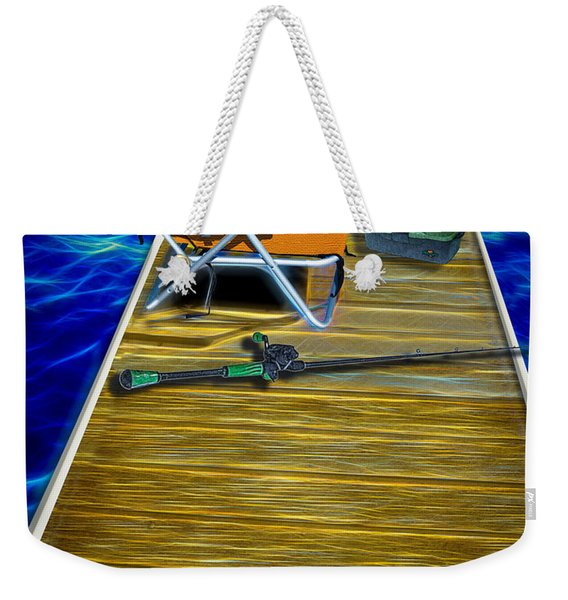 Done Fishing Weekender Tote Bag