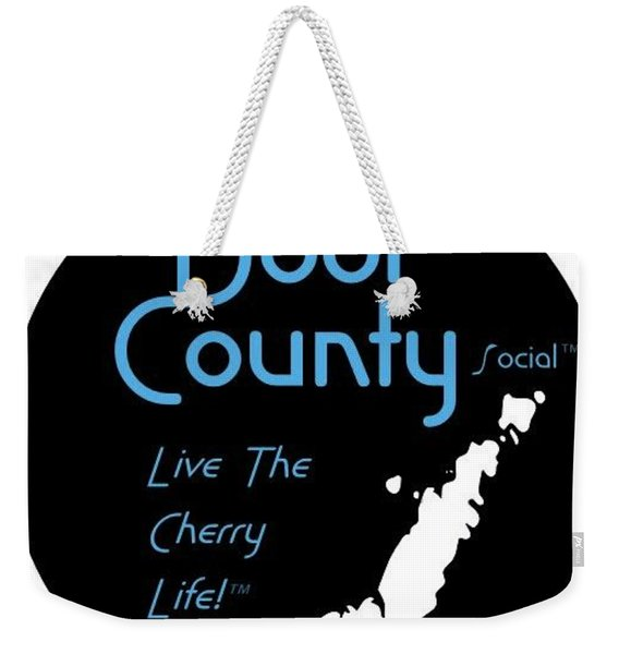Door County Icon Weekender Tote Bag