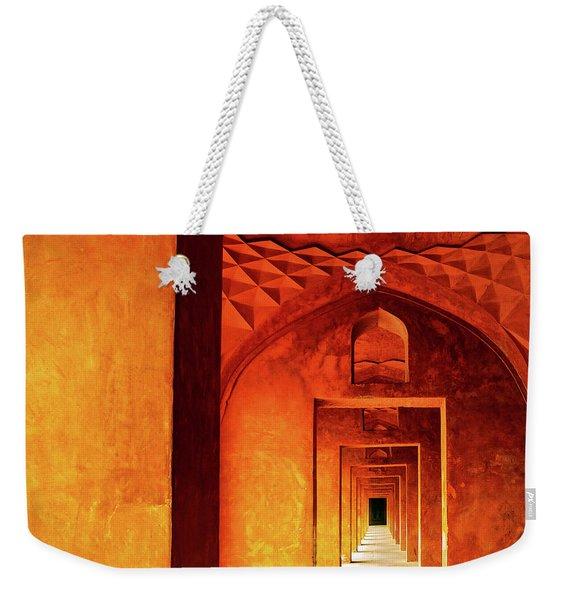 Doors Of India - Taj Mahal Weekender Tote Bag