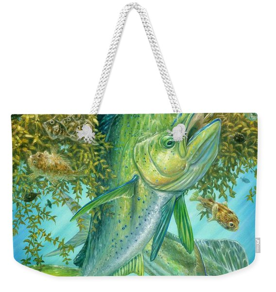 Dorados Hunting In Sargassum Weekender Tote Bag