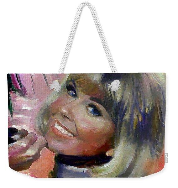 Doris Day Weekender Tote Bag