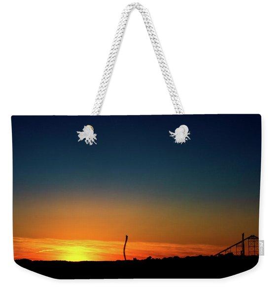 Dorney Park Sunset Weekender Tote Bag