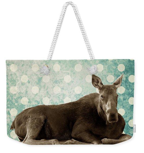 Dot Weekender Tote Bag