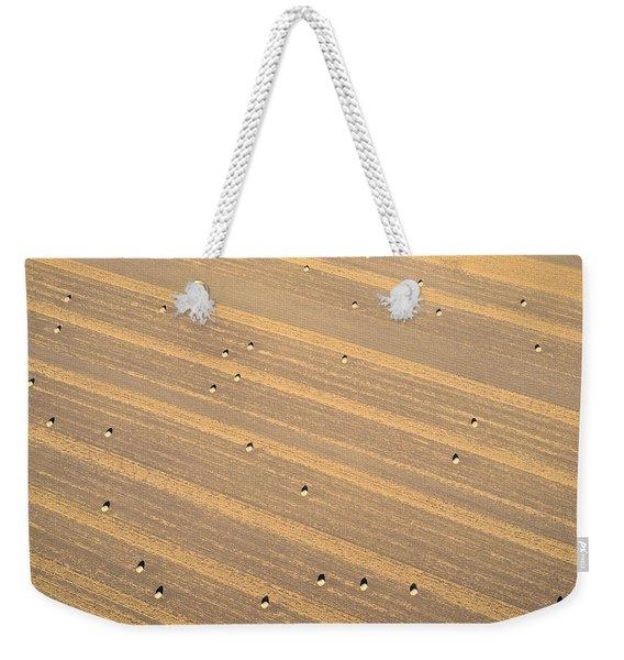 Dot Matrix Weekender Tote Bag
