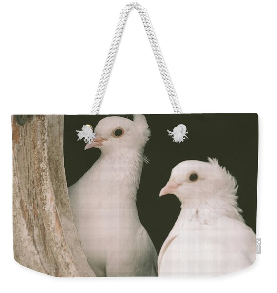 A Pair Of Doves Weekender Tote Bag