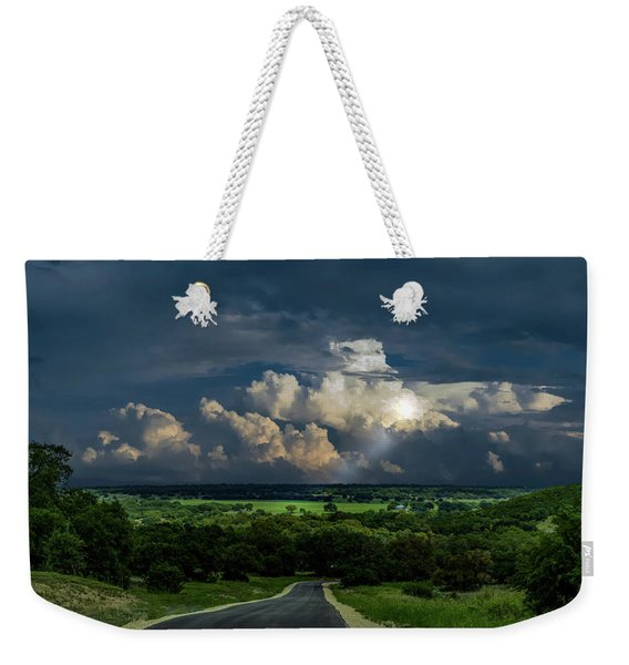 Down Hill From Here Weekender Tote Bag
