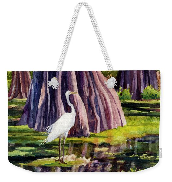 Down In The Swamplands Weekender Tote Bag