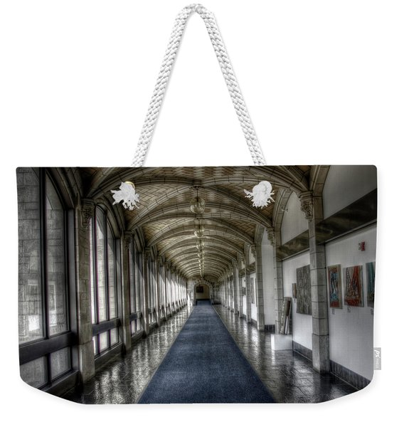 Down The Hall Weekender Tote Bag