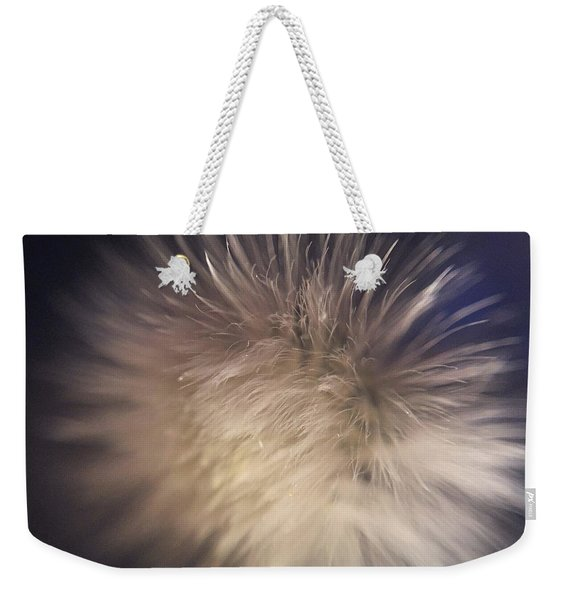 Down The Middle Weekender Tote Bag