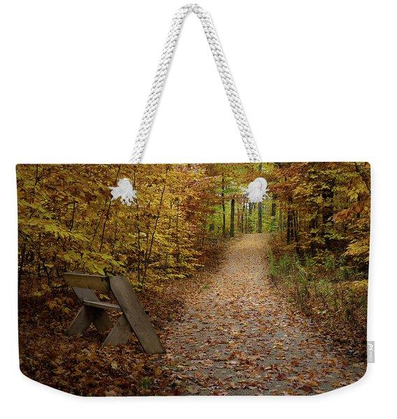 Down The Trail Weekender Tote Bag