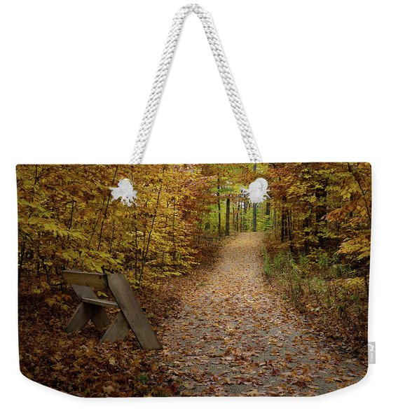 Down The Trail Weekender Tote Bag