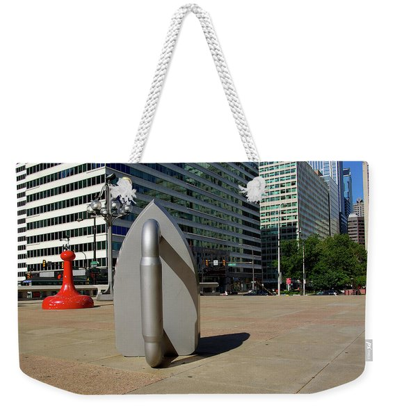 Downtown Philadelphia 2008 Weekender Tote Bag