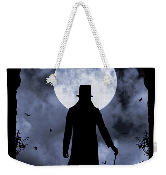 Weekender Tote Bag featuring the photograph Dracula Returns by Clayton Bastiani