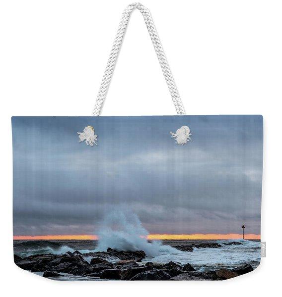 Dramatic Beginnings. Weekender Tote Bag