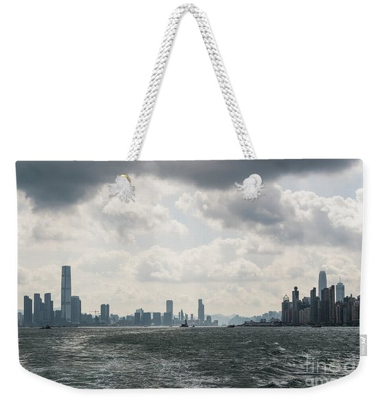 Dramatic Hong Kong Weekender Tote Bag