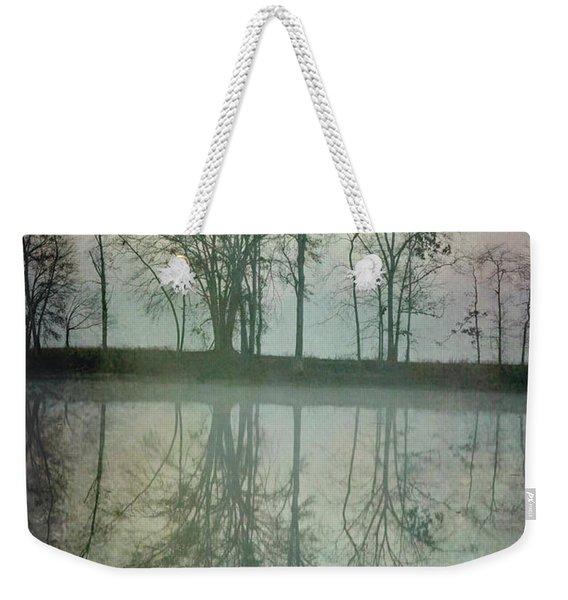 Dramatic Reflection Weekender Tote Bag
