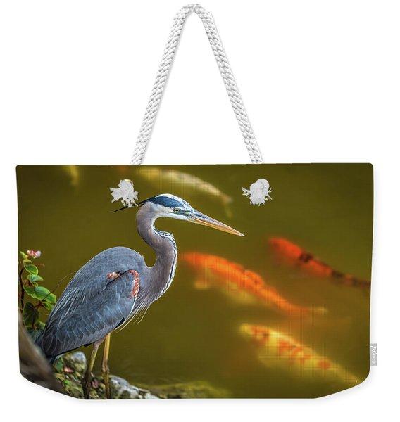 Dreaming Tricolor Heron Weekender Tote Bag