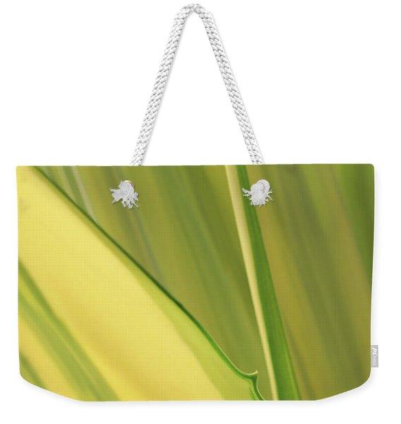 Dreamy Leaves Weekender Tote Bag