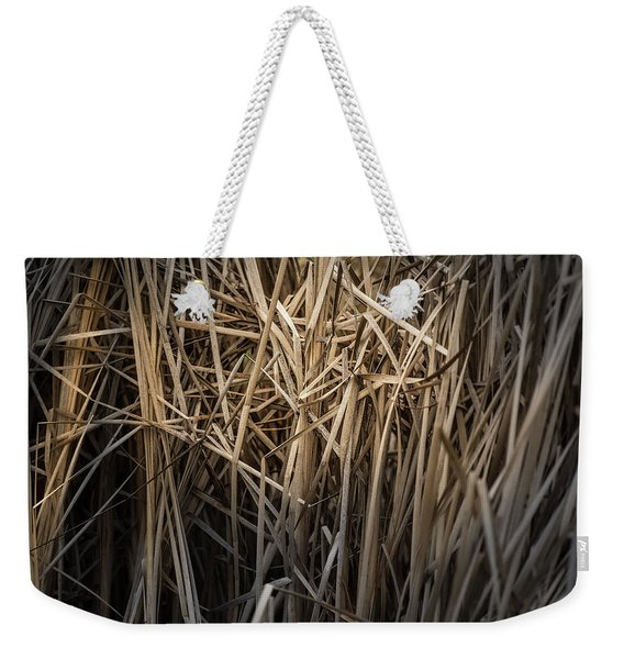 Dried Wild Grass II Weekender Tote Bag