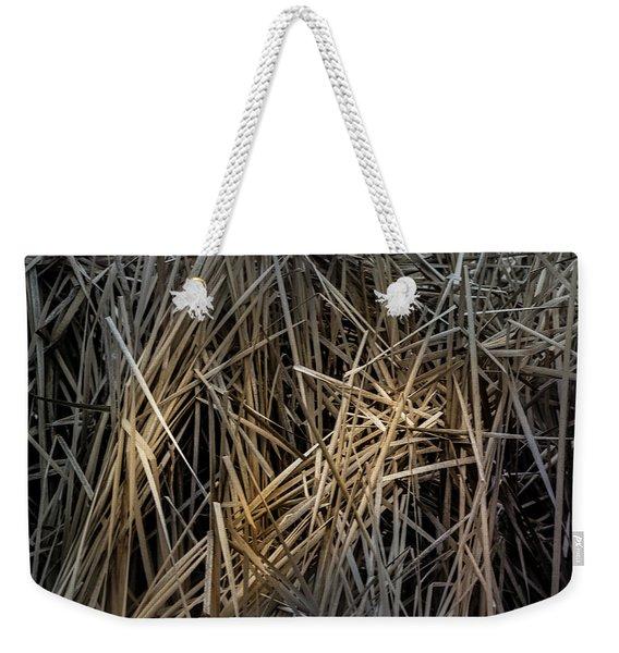Dried Wild Grass IIi Weekender Tote Bag