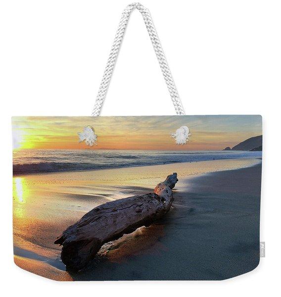Drift Wood At Sunset II Weekender Tote Bag