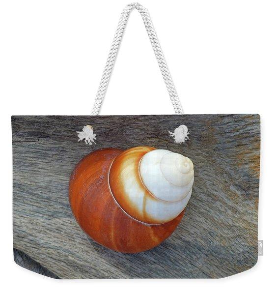 Driftwood And Periwinkle Weekender Tote Bag