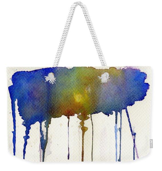 Dripping Universe Weekender Tote Bag