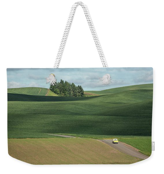 Drive In The Palouse Weekender Tote Bag