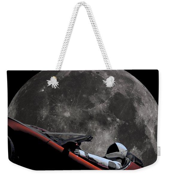Driving Around The Moon Weekender Tote Bag