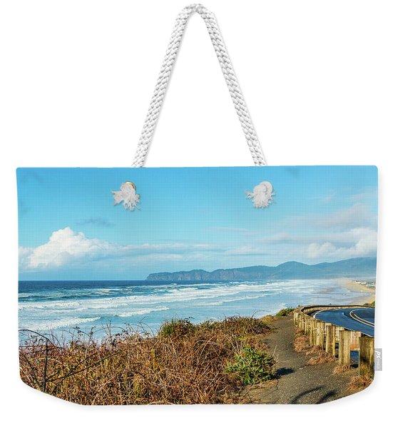 Driving The Oregon Coast Weekender Tote Bag