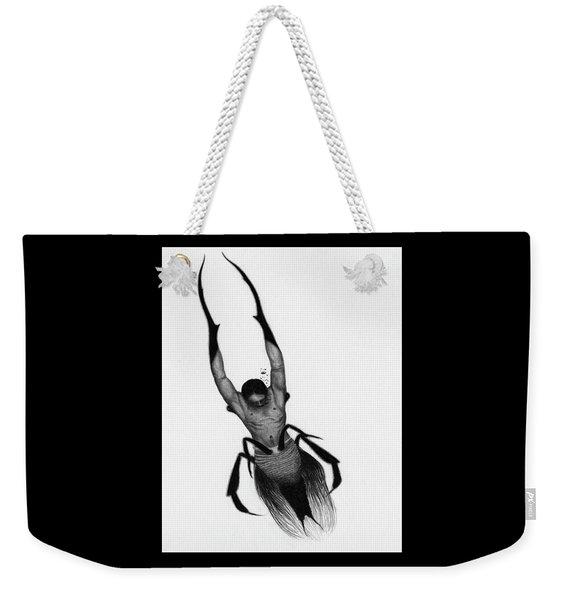 Drowned Samurai Kaito - Artwork Weekender Tote Bag