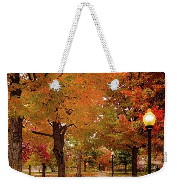 Drury Autumn Weekender Tote Bag