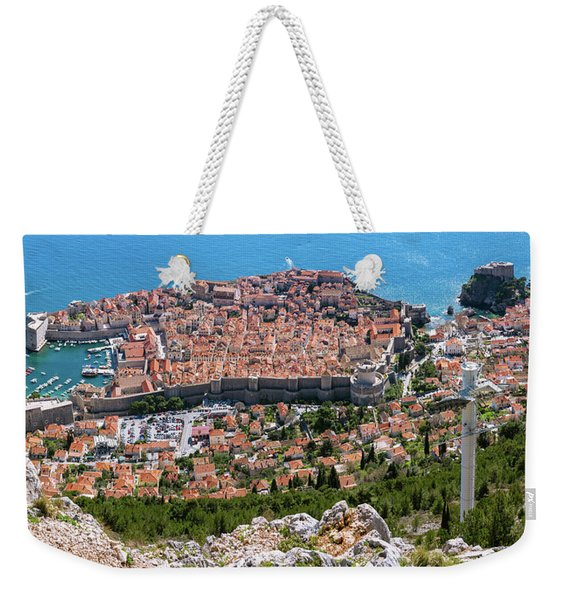 Dubrovnik Panorama From The Hill Weekender Tote Bag