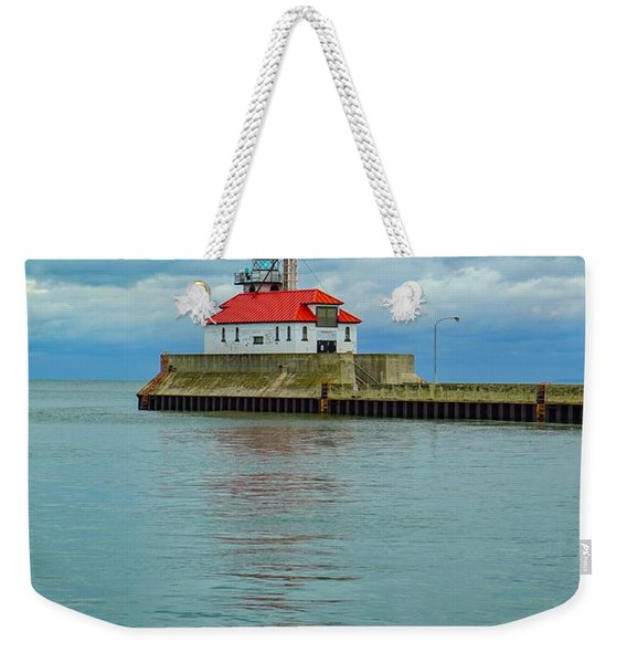 Duluth Lighthouse 2 Weekender Tote Bag