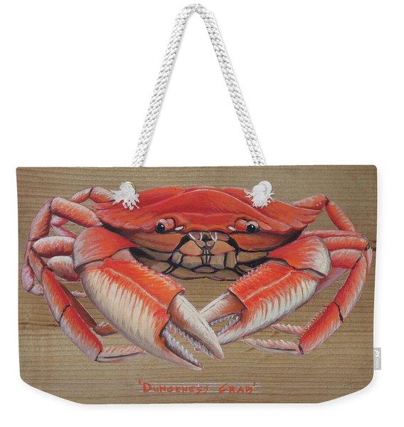 Dungeness Crab Weekender Tote Bag
