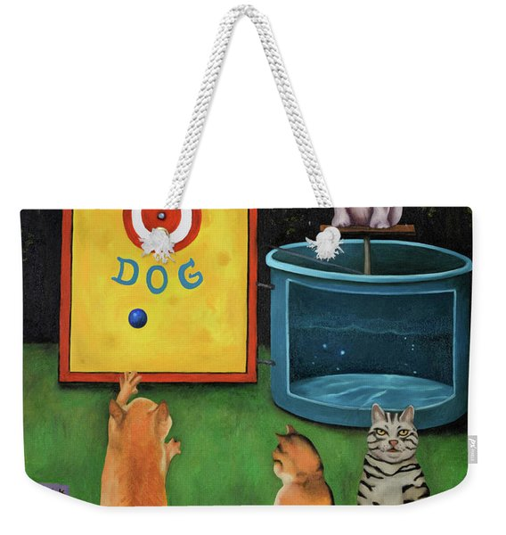 Dunk A Dog Weekender Tote Bag