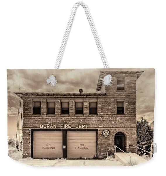 Duran Fire Dept Weekender Tote Bag