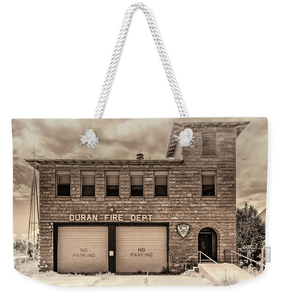 Duran Fire Dept Weekender Tote Bag