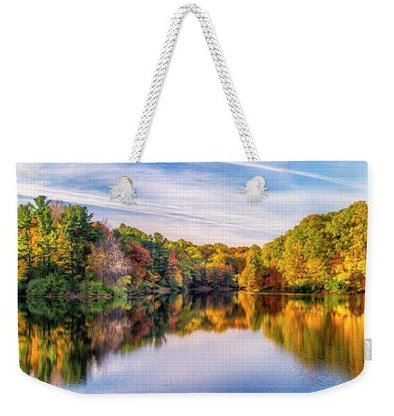 Durand Lake Weekender Tote Bag