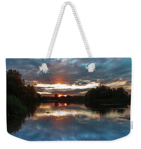 Dusk Aquarelle Weekender Tote Bag