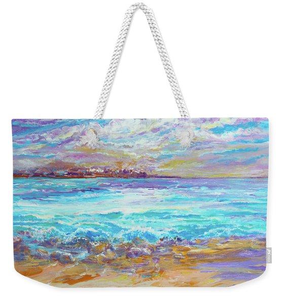Dusk At The Beach Weekender Tote Bag