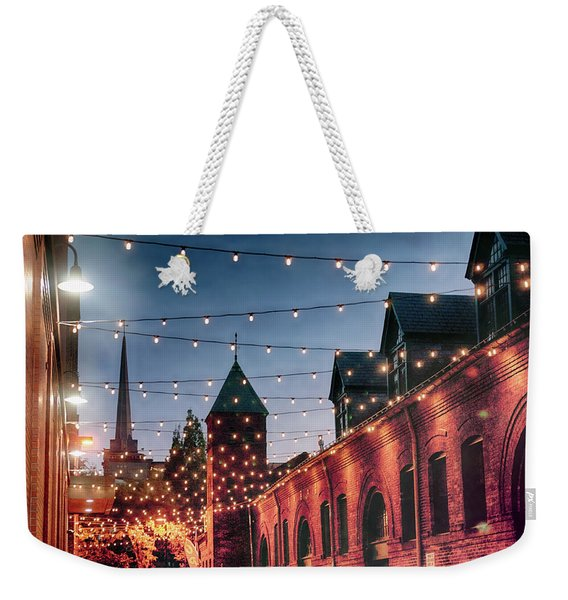 Dusk Lights Weekender Tote Bag