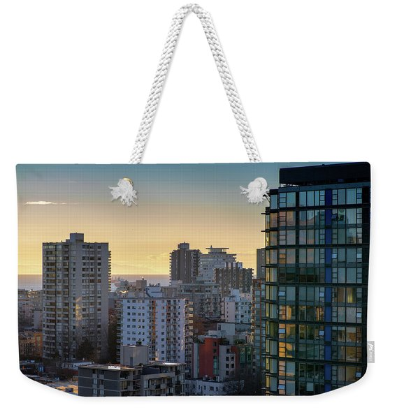 Dusky Hues Over The Pacific Weekender Tote Bag