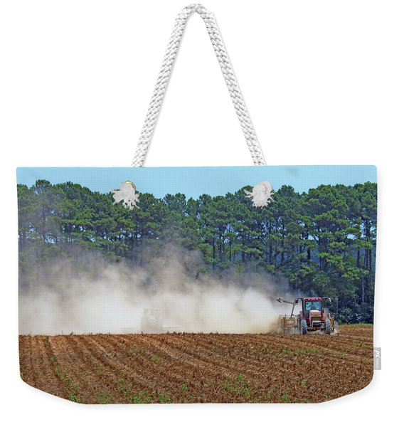 Dust Farming Weekender Tote Bag